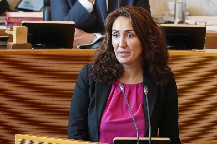Christie Morreale, ministre wallonne de l'Emploi.