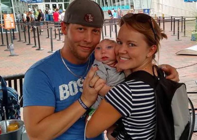 Jaxon met zijn ouders