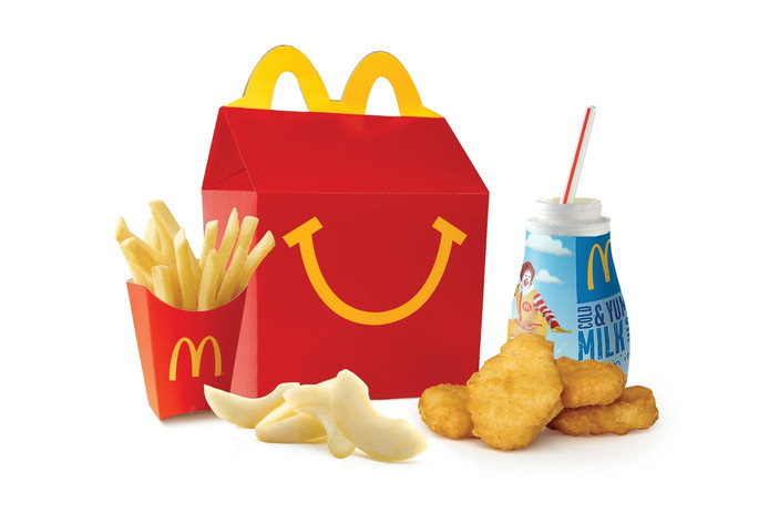 Een Happy Meal van McDonald's.