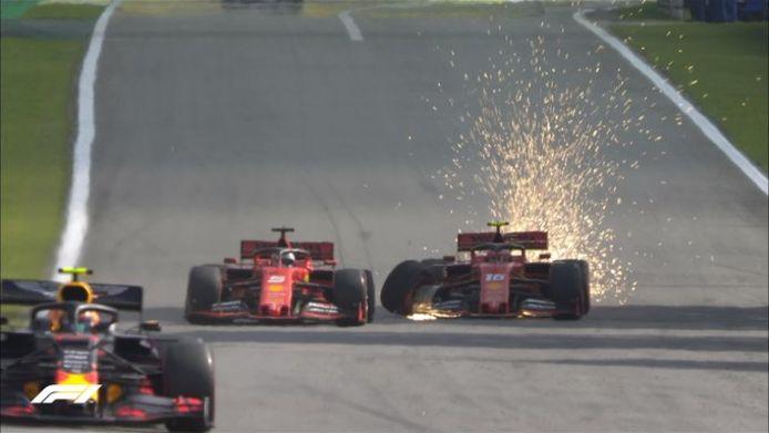 Vettel et Leclerc