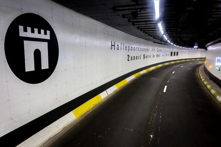 De Hallepoorttunnel.