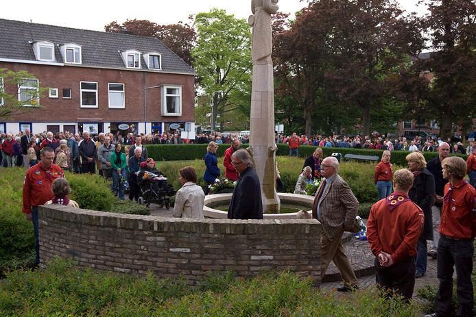 Eerdere dodenherdenking in Zutphen