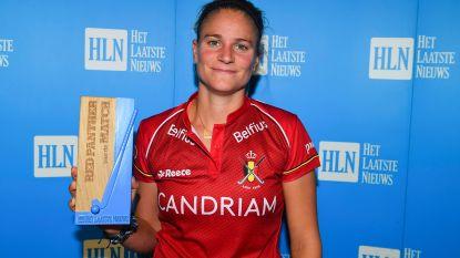 """Alix Gerniers uitgerekend in haar 200de wedstrijd Red Panther van de Match: """"Mooi dat dit op EK in eigen land gebeurt"""""""