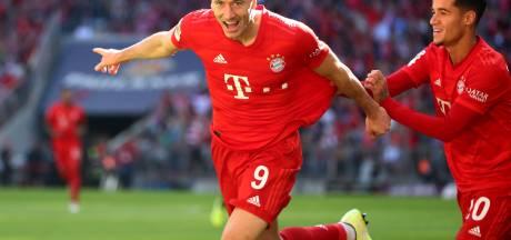 Bayern wint ruim na rode kaart Ehizibue, Bosz met Leverkusen langs Union Berlin