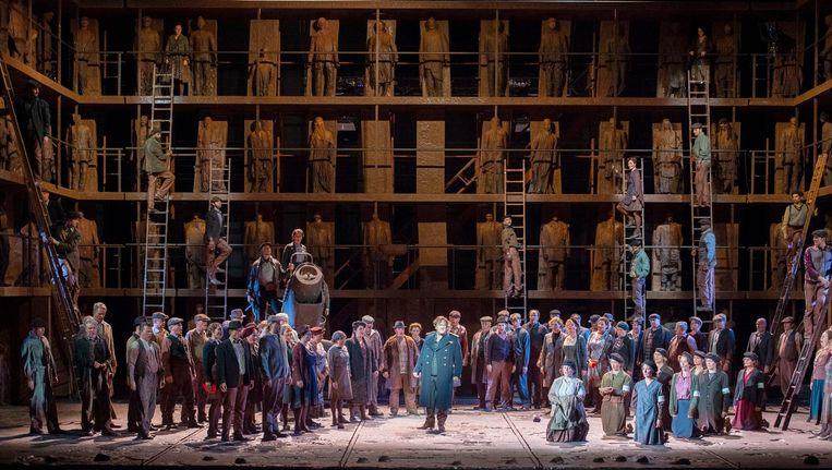 Oedipe is de enige opera van de Roemeense componist George Enescu. Beeld DNO 2018