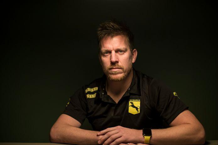 Wouter Schouten heeft getekend voor een vijfde seizoen als trainer van zijn club, Ruurlo.