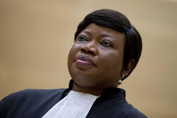 Fatou Bensouda, de hoofdaanklaagster van het Internationaal Strafhof.