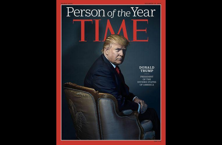 Trump op de cover van Time in 2016.