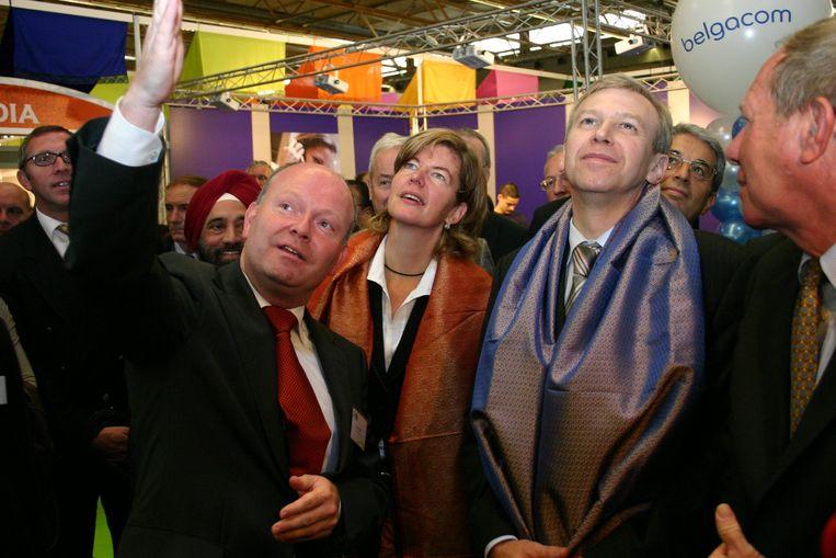 Eeklo was ooit gaststad van de beurs Accenta, en daar mocht Loete ook Yves Leterme ontvangen.