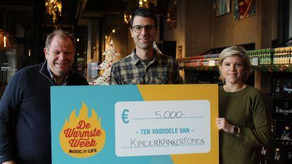 Brouwerij St. Bernardus zamelt 5.000 euro in voor Kinderkankerfonds