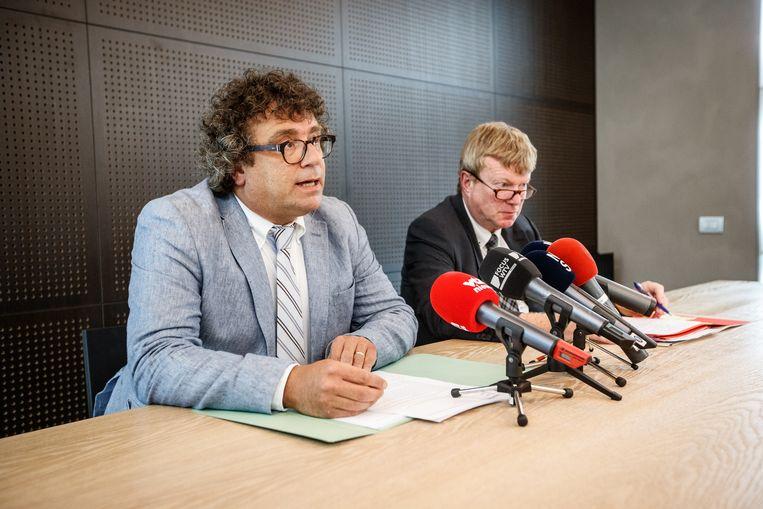 Koen Stubbe, advocaat van de man van Bieke W., en Philip Van den Berghe gaven vanmiddag meer informatie over de omstandigheden.
