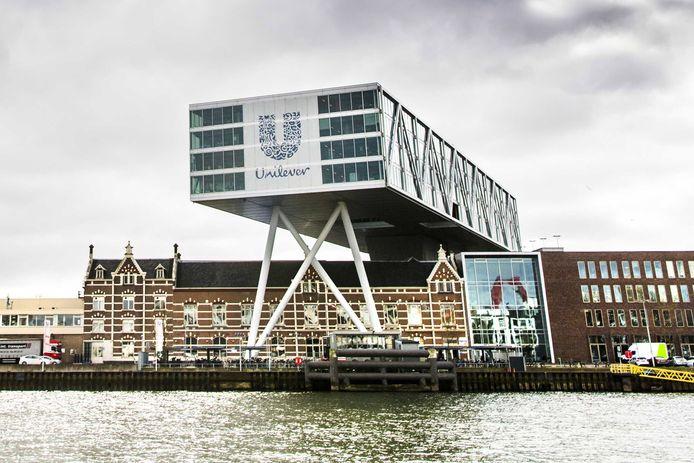 Het Nederlandse hoofdkantoor van Unilever in Rotterdam.