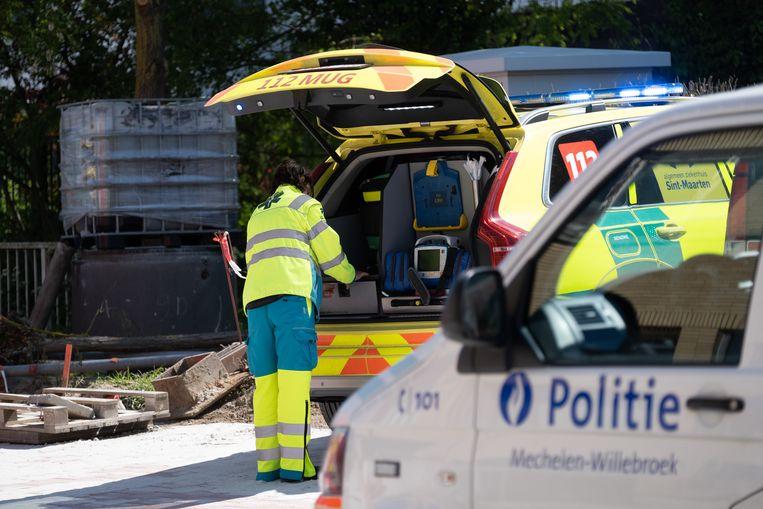 In de Jozef De Blockstraat te Tisselt gebeurde een dodelijk ongeval ter hoogte van de wegenwerken.