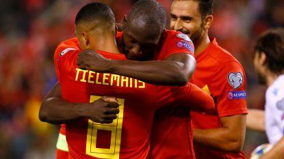 Van de 50ste van Lukaku tot de debuutgoal van Verschaeren: bekijk hier de goals uit België-San Marino