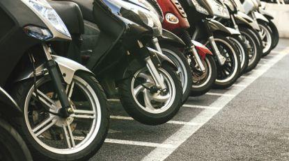 Bijna half miljoen motoren en scooters ingeschreven in België