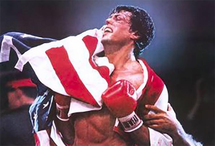 Sylvester 'Rocky Balboa' Stallone