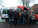 Het einde van de buurtbus, januari 2013, de allerlaatste rit.