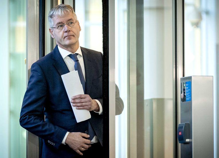 De Nederlandse minister van Onderwijs Arie Slob.