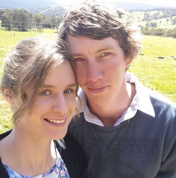 Samuel McPaul en zijn vrouw.