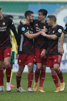 Tiental Feyenoord toont veerkracht na horrorstart in Sittard