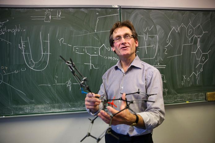 Een van de beste wetenschappers van dit moment: Ben Feringa.