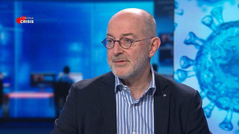 Epidemioloog Pierre Van Damme