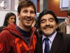"""L'hommage de Messi: """"Un jour très triste pour tous les Argentins et pour le football"""""""