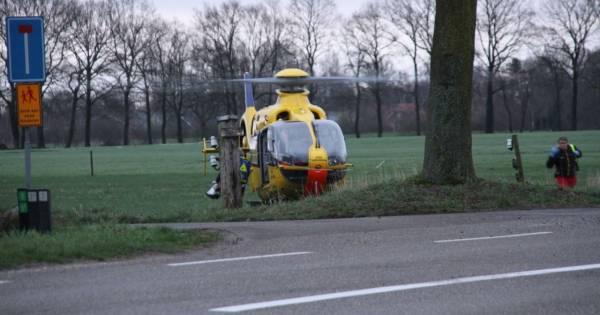 Vrouw uit Enter overleden na eenzijdig ongeluk op Bornerbroekseweg.