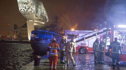100.000 euro schade aan boot door brand