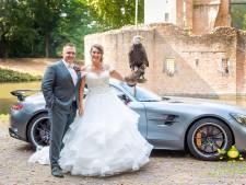 Bruidspaar dat trouwringen verloor door roofvogel: 'We hebben wel een traantje weggepinkt'