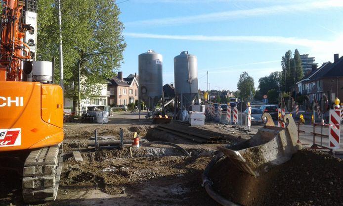 De werken op de Vesten zijn op de Bergévest aangekomen.