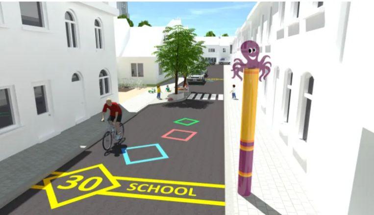 De schoolbuurten van Eeklo worden veiliger, met enkele kleine ingrepen.