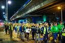 Start van de Nacht van de Vluchteling in juni van dit jaar in Rotterdam.