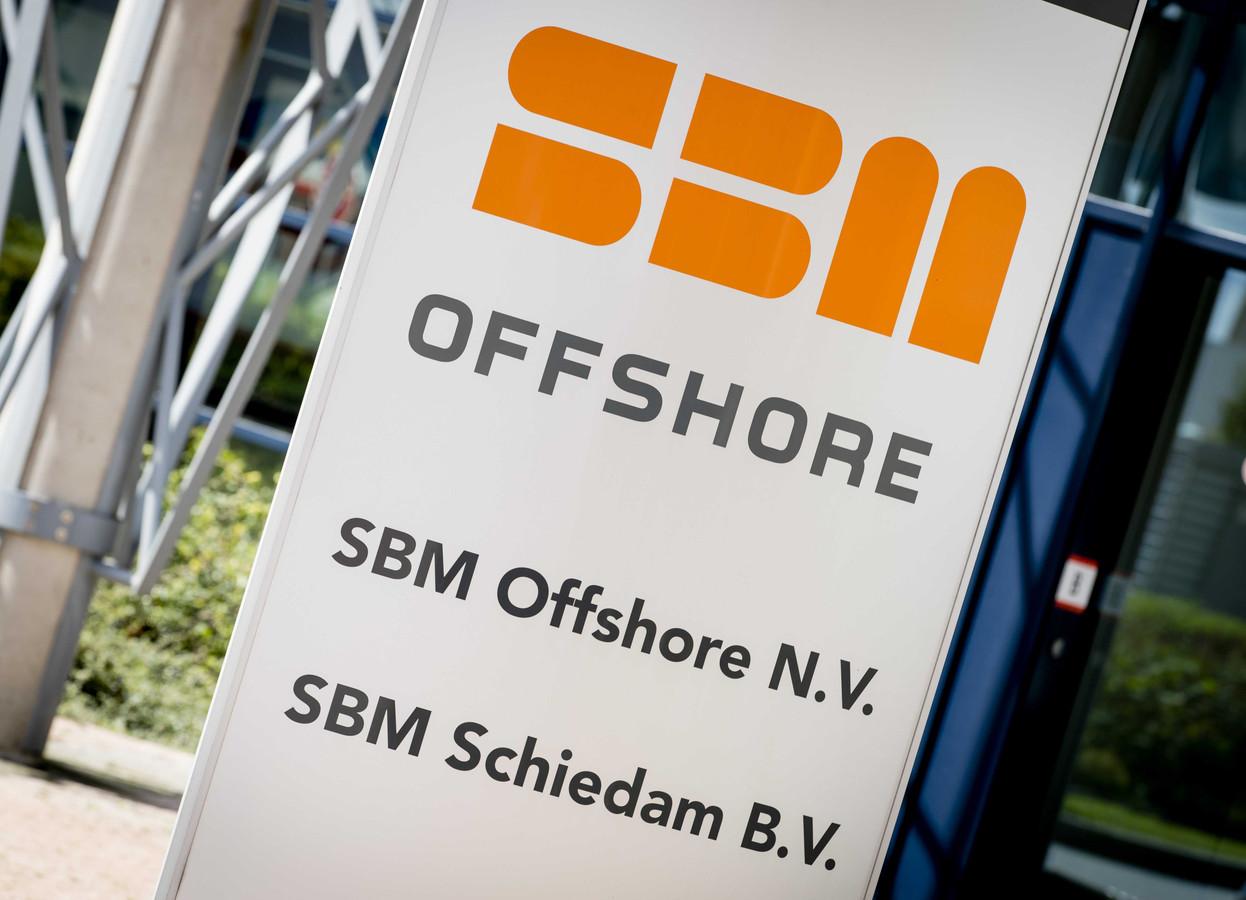 Het hoofdkantoor SBM Offshore in Schiedam.