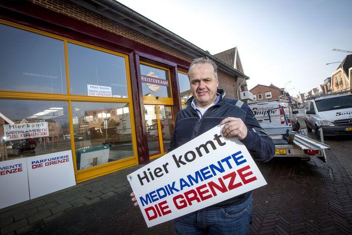 Archieffoto: Medikamente die Grenze vestigt zich in Ootmarsum, in het oude pand van Heisterkamp Rijwielen.