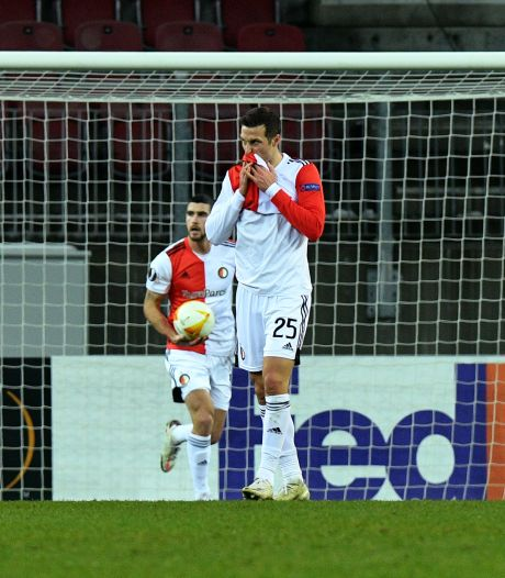 Europese exit voor onthutsend zwak Feyenoord in Oostenrijk
