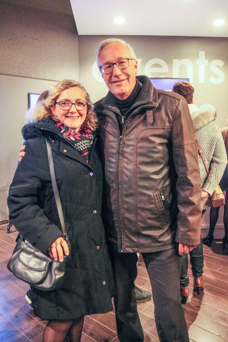 Rudy Coddens samen met zijn vrouw Myrèse.