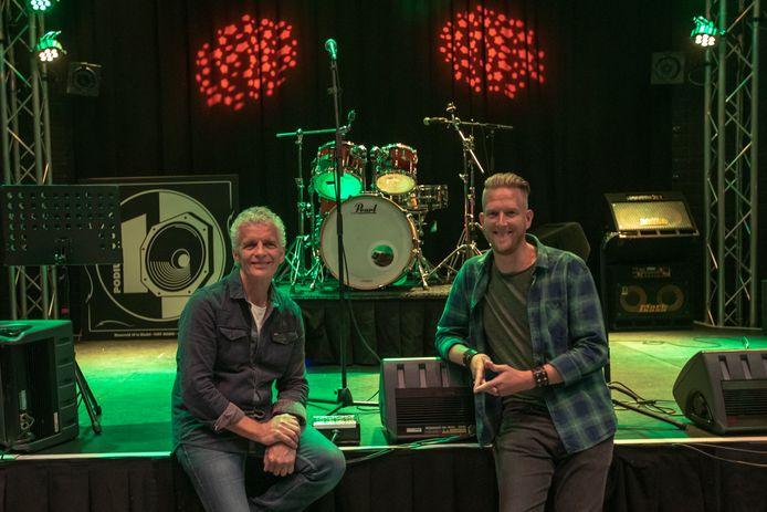 Gerard van Gompel (links) en Sander Jansen van podium 10 Bladel