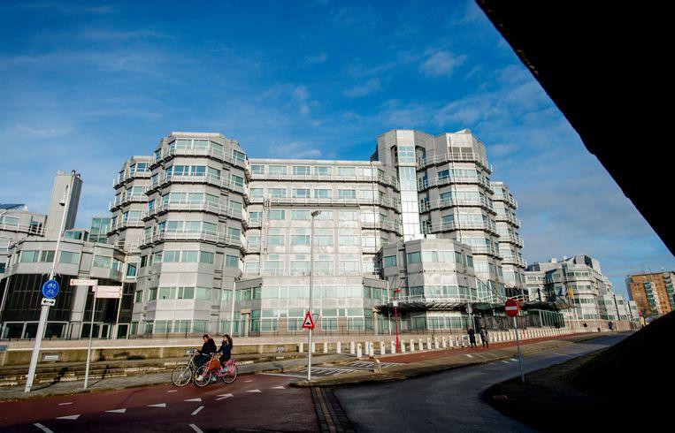 Het gebouw van de Algemene Inlichtingen- en Veiligheidsdienst in Zoetermeer. Beeld ANP