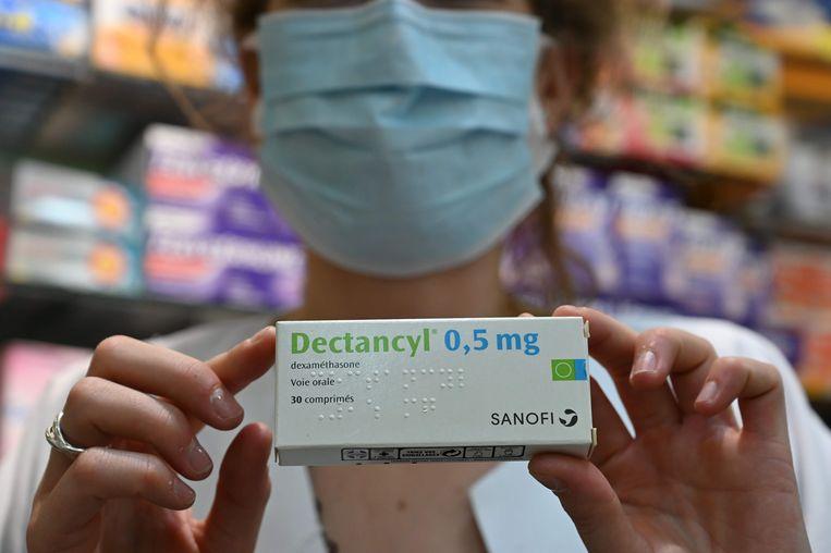 Het middel dexamethason is geenszins nieuw en wordt ook al op de Nederlandse ic's gebruikt.  Beeld AFP