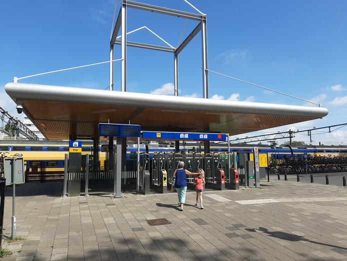 Dirk Dalebout is na zijn verdwijning mogelijk door het Weizigtpark naar de achterkant van het station in het centrum gelopen.