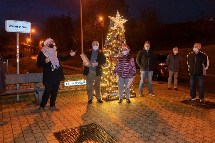 Het Begijnhof werd verkozen door de mooiste kerstbuurt van 2020 in Sint-Truiden.