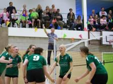Volleybalsters Haaften Kwiek denderen door