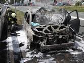 Auto volledig uitgebrand op Gasstraat-Oost in Oss