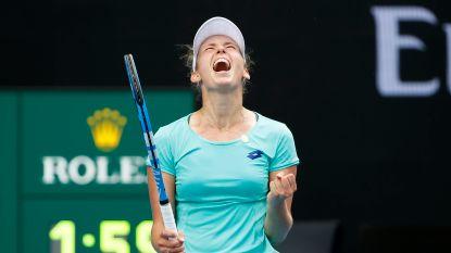 Mertens doet het! Limburgse rekent in twee sets af met Kroatische en staat in kwartfinales Australian Open