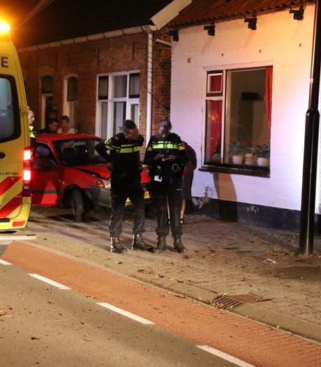 Auto ramt woning  in 's-Heerenhoek