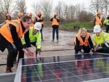 Eerste zonnepaneel Flevokust start van meer samenwerking