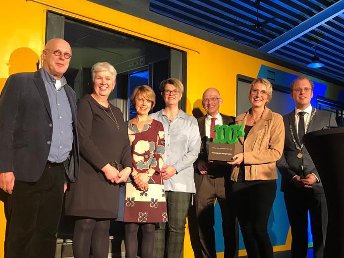 Het SKB kreeg de 100% Winterswijk Trofee uitgereikt.