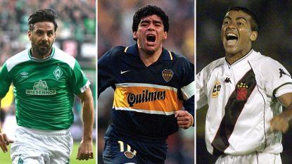 Van Zlatan en Pizarro tot Maradona en Romário: ook deze 'oudjes' keerden terug naar hun oude liefde