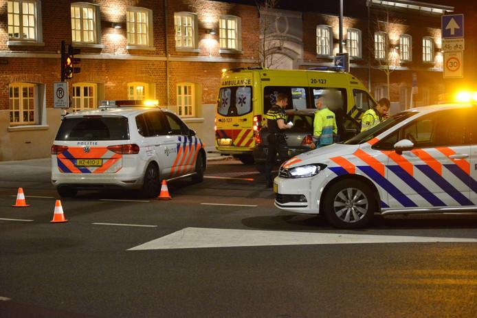 Fietser aangereden door automobilist in Breda